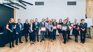 Wręczenie nagród i wyróżnień w konkursie Inspiracje 2016 - panel Tunes odebrał wyróżnienie