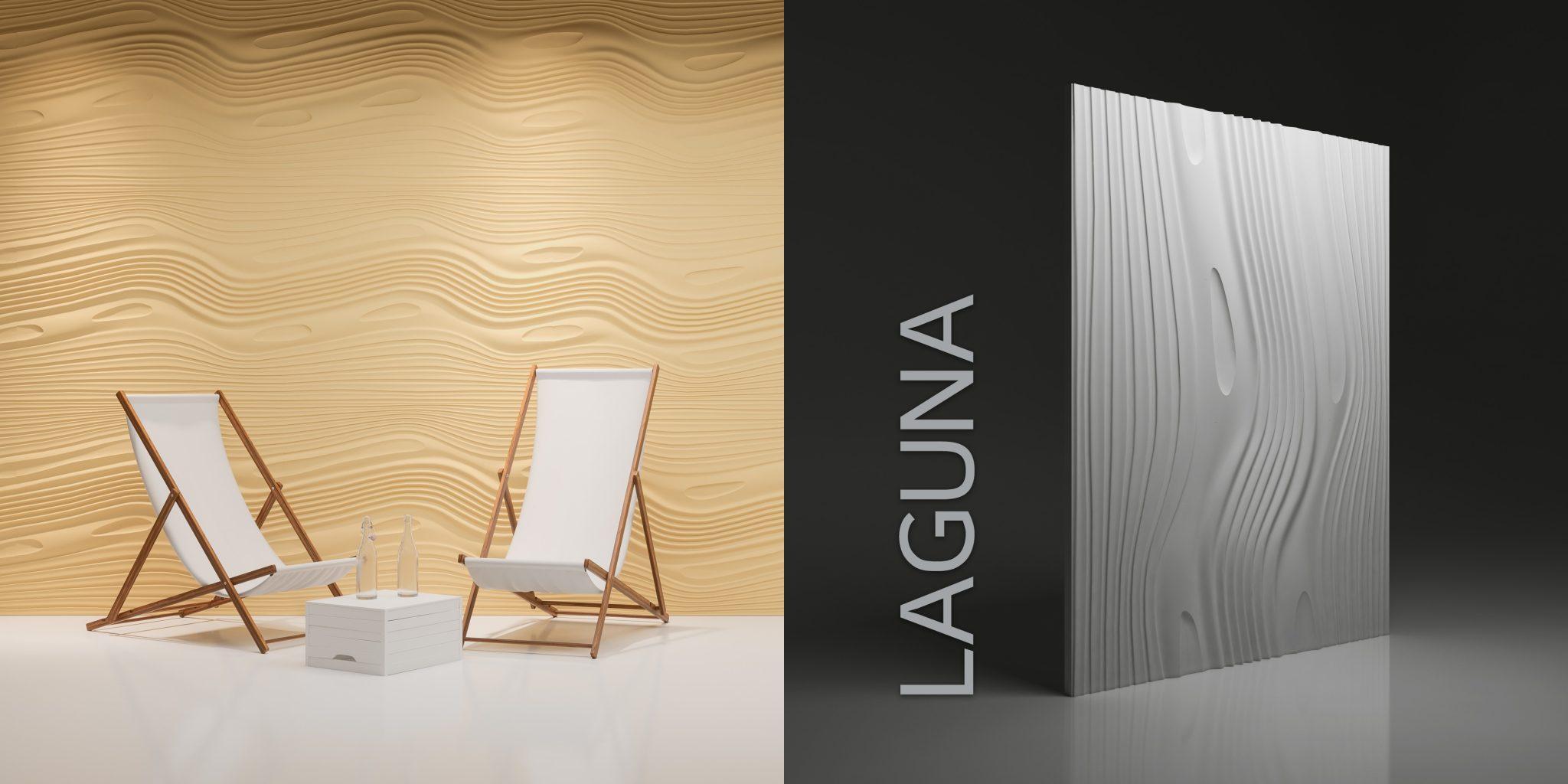 Wzór Laguna - wizualizacja katalogowa + render
