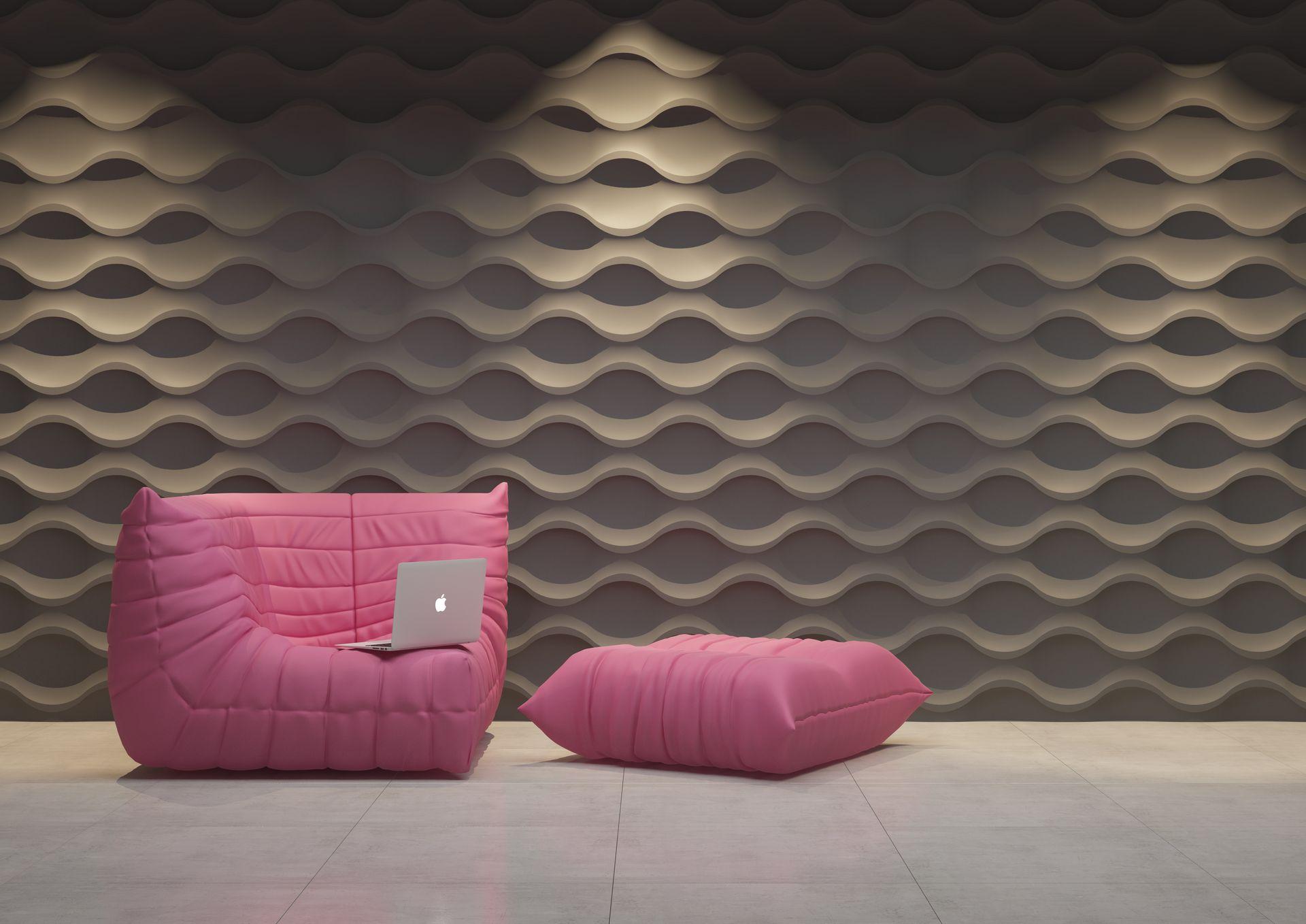Wzornictwo Panele Dekoracyjne 3d Dunes