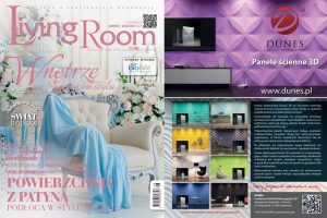Panele 3d Dunes w magazynie Living Room