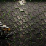 Hexagon Double Panele dekoracyjne 3D