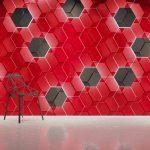 Dunes Hexagon Loupe Panele dekoracyjne 3D
